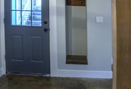 basement door to outside