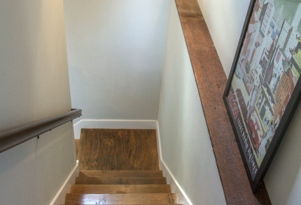 stairway to the basement