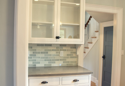 custom built-in kitchen cabinets